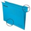"""Kép 1/8 - Függőmappa, újrahasznosított karton, A4, ESSELTE """"Classic"""", kék"""