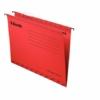 """Kép 2/8 - Függőmappa, újrahasznosított karton, A4, ESSELTE """"Classic"""", piros"""