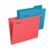 """Kép 3/8 - Függőmappa, újrahasznosított karton, A4, ESSELTE """"Classic"""", piros"""