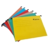 Kép 2/8 - Függőmappa, karton, A4, VICTORIA, sárga