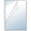 Kép 1/8 - Genotherm, lefűzhető, A4, 60 mikron, narancsos felület, REXEL, belső oldala nyitott