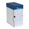 Kép 1/8 - Archiváló doboz, A4, 150 mm, karton, VICTORIA, kék-fehér