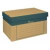 Kép 1/8 - Archiváló konténer, 320x460x270 mm, karton, VICTORIA, natúr