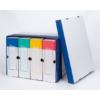 Kép 3/8 - Archiváló konténer, 320x460x270 mm, karton, VICTORIA, kék-fehér