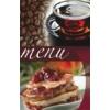 """Kép 1/8 - Étlaptartó, A5, PANTA PLAST """"Café"""" , kávé-tea-sütemény"""