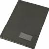 Kép 1/8 - Aláírókönyv, A4, 20 részes, karton, műbőr hatású borító, VICTORIA, fekete