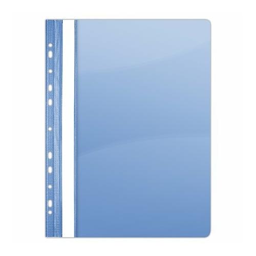 Gyorsfűző, lefűzhető, PVC, A4, DONAU, kék
