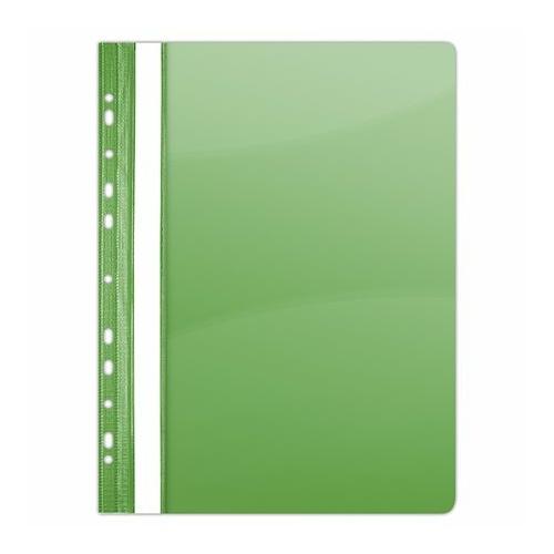 Gyorsfűző, lefűzhető, PVC, A4, DONAU, zöld