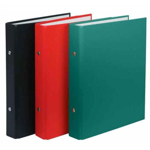 Gyűrűs könyv, 2 gyűrű, 30 mm, A5, PP/karton, DONAU, piros