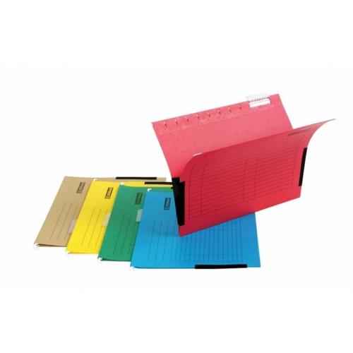 Függőmappa, oldalvédelemmel, karton, A4, DONAU, narancs