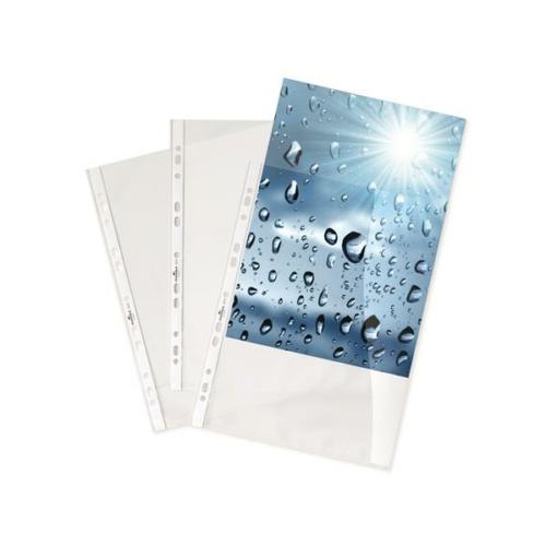 Genotherm, lefűzhető, A4, 80 mikron, víztiszta, DURABLE