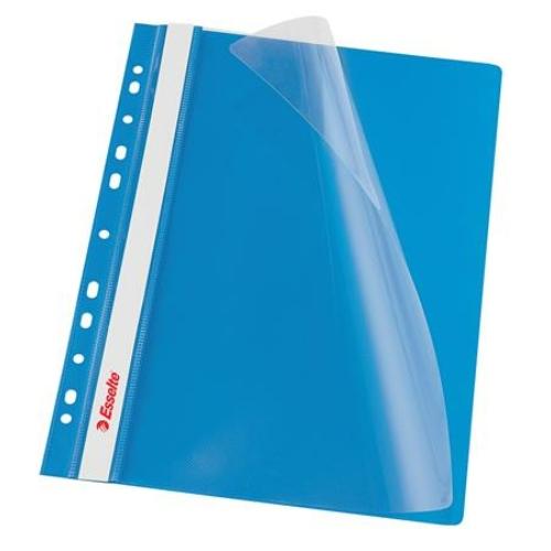 Gyorsfűző, lefűzhető, PP, A4, ESSELTE, VIVIDA, kék