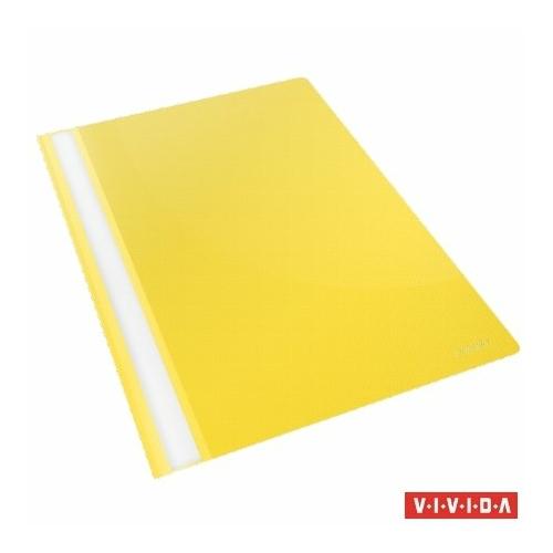 """Gyorsfűző, PP, A4, ESSELTE """"Standard"""", VIVIDA, sárga"""