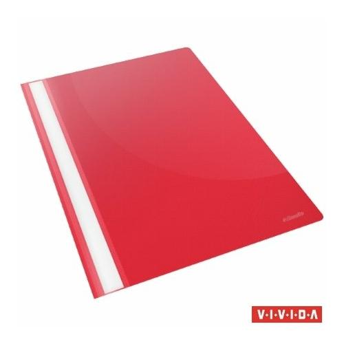 """Gyorsfűző, PP, A4, ESSELTE """"Standard"""", VIVIDA, piros"""