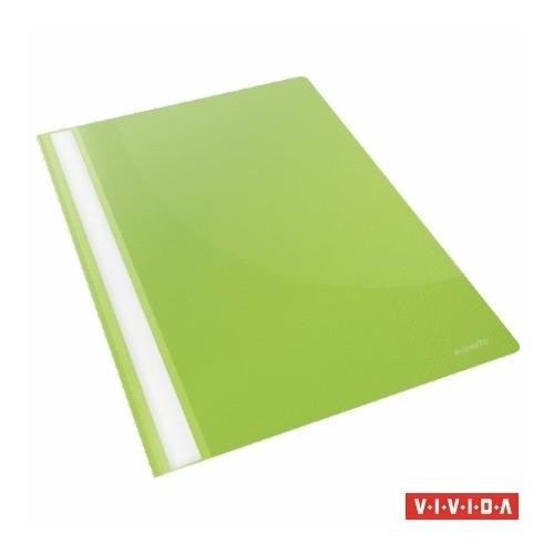 "Gyorsfűző, PP, A4, ESSELTE ""Standard"", VIVIDA, zöld"