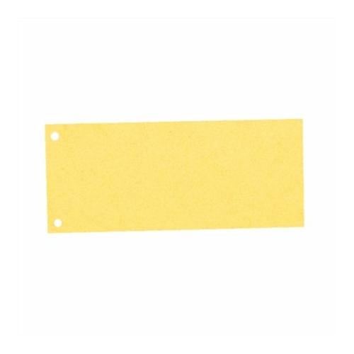Elválasztócsík, karton, ESSELTE, sárga