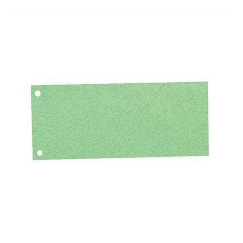 Elválasztócsík, karton, ESSELTE, zöld