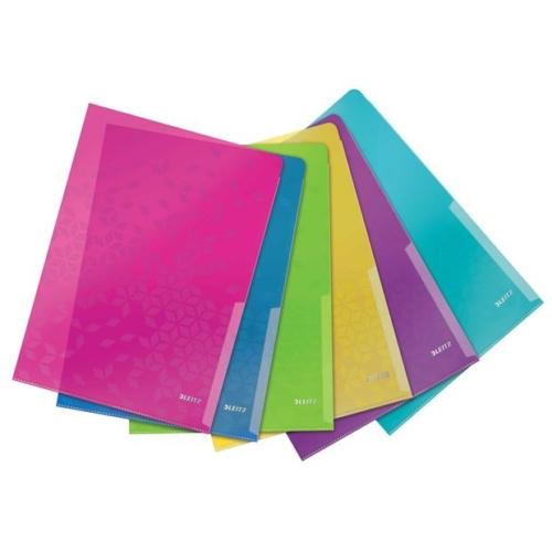 """Genotherm, """"L"""", A4, 200 mikron, LEITZ """"Wow"""", vegyes színek"""