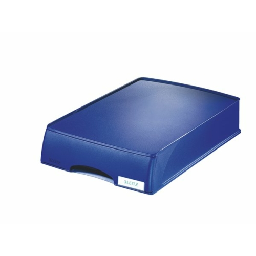 """Irattároló, műanyag, 1 fiókos, LEITZ """"Plus"""", kék"""