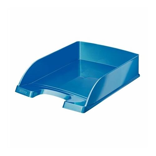 """Irattálca, műanyag, LEITZ """"Wow"""", kék"""
