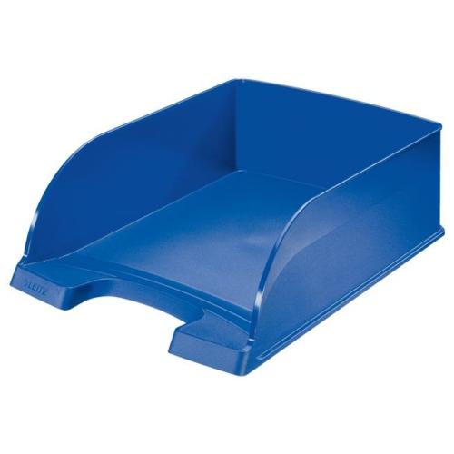 """Irattálca, műanyag, LEITZ """"Plus Jumbo"""", kék"""