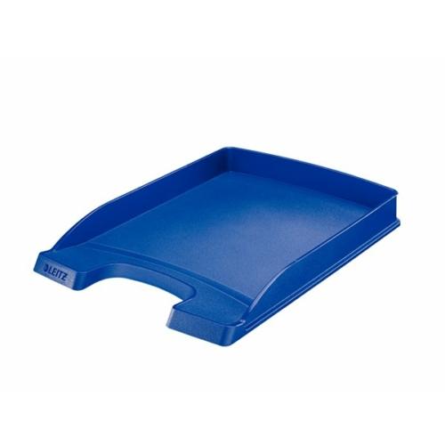"""Irattálca, műanyag, vékony, LEITZ """"Plus"""", kék"""