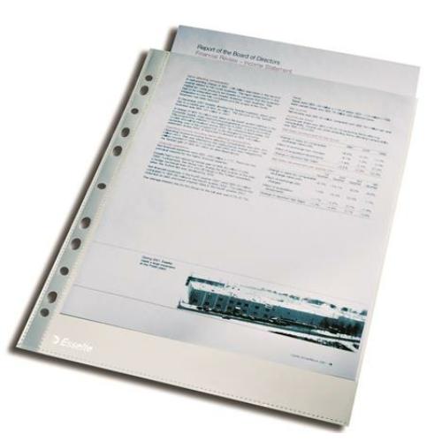 """Genotherm, lefűzhető, A4, 105 mikron, víztiszta felület, ESSELTE """"Luxus"""""""