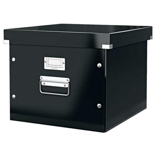 """Irattároló doboz, függőmappának, LEITZ """"Click&Store"""", fekete"""