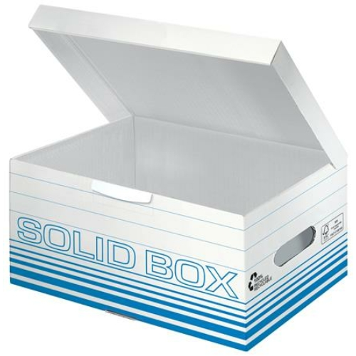 """Archiváló doboz, S méret, LEITZ """"Solid"""", világos kék"""