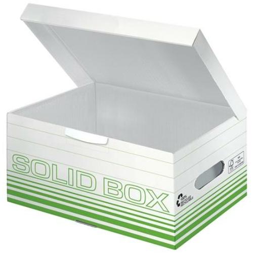 """Archiváló doboz, S méret, LEITZ """"Solid"""", világos zöld"""