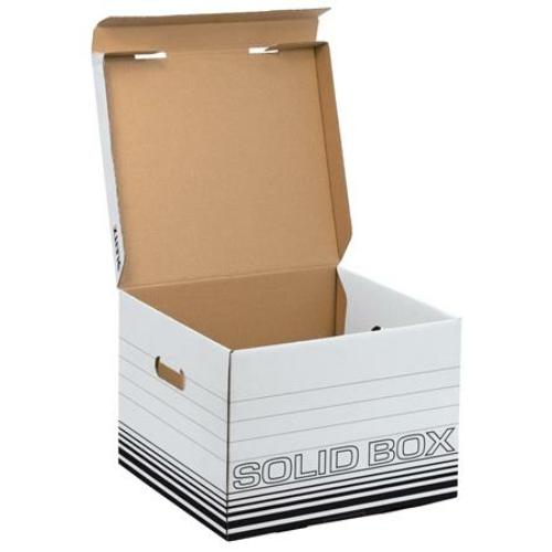 """Archiváló doboz, M méret, LEITZ """"Solid"""", fehér"""