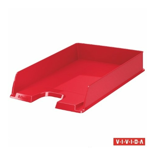 "Irattálca, műanyag, ESSELTE ""Europost"", Vivida piros"