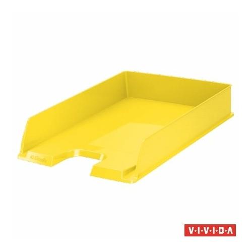 "Irattálca, műanyag, ESSELTE ""Europost"", Vivida sárga"