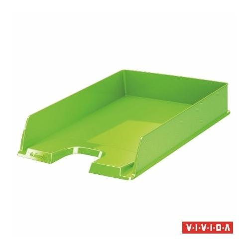 "Irattálca, műanyag, ESSELTE ""Europost"", Vivida zöld"