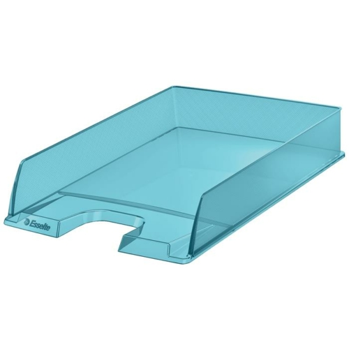 """Irattálca, műanyag, ESSELTE """"Colour` Ice"""", kék"""