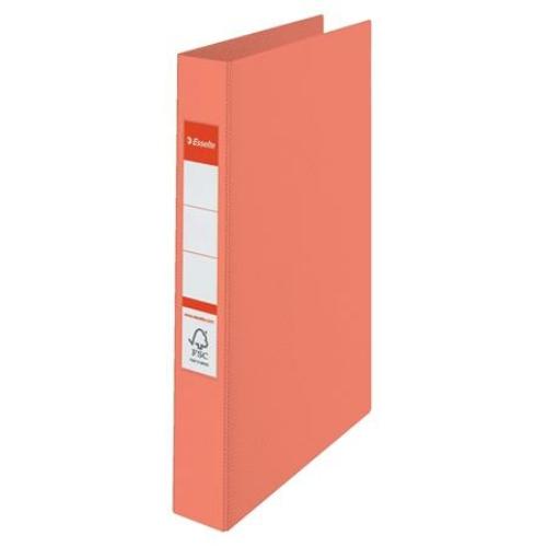 "Gyűrűs könyv, 2 gyűrű, 42 mm, A4, PP, ESSELTE ""Colour`Ice"", barack"