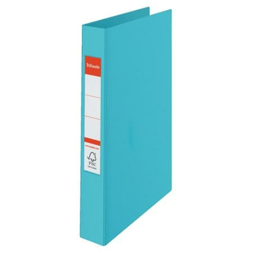 """Gyűrűs könyv, 2 gyűrű, 42 mm, A4, PP, ESSELTE """"Colour`Ice"""", kék"""