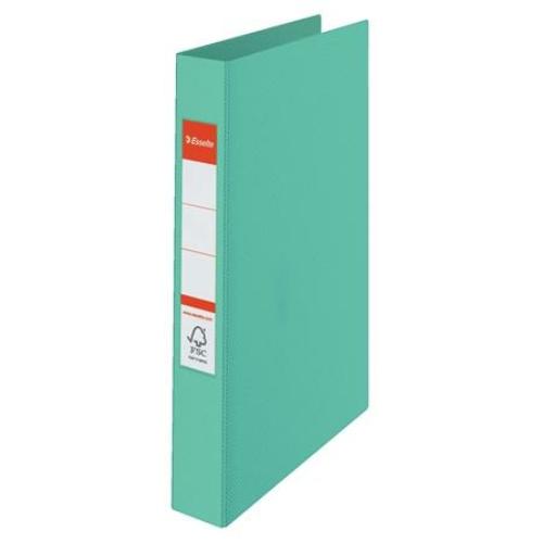 """Gyűrűs könyv, 2 gyűrű, 42 mm, A4, PP, ESSELTE """"Colour`Ice"""", zöld"""