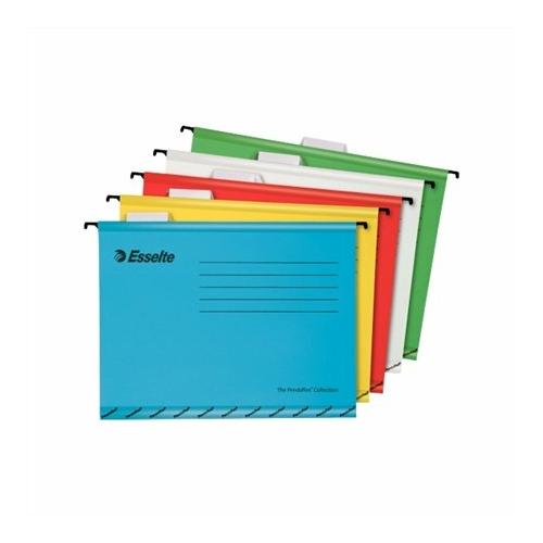 """Függőmappa, újrahasznosított karton, A4, ESSELTE """"Classic"""", vegyes színek"""