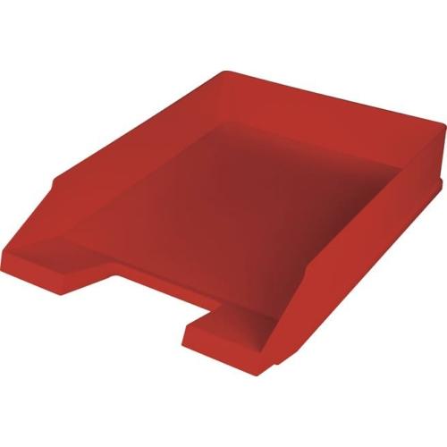 "Irattálca, műanyag, HELIT ""Economy"", piros"