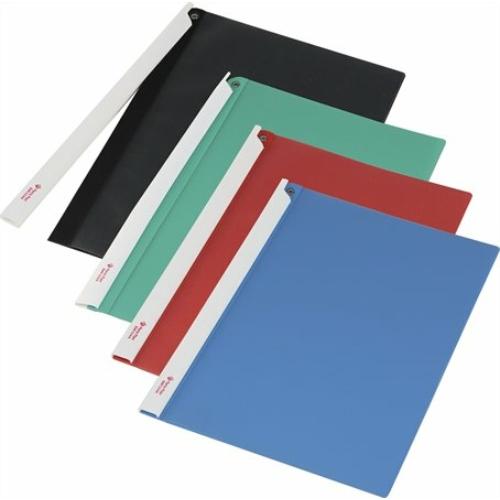 Gyorsfűző, hosszú klipes, PP, A4, PANTA PLAST, kék