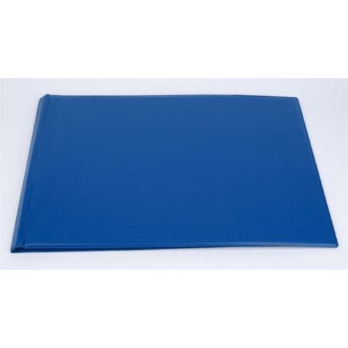 Villámzáras mappa, A3, fekvő, VICTORIA, kék